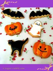 【アイシングクッキー】 賑やかハロウィン